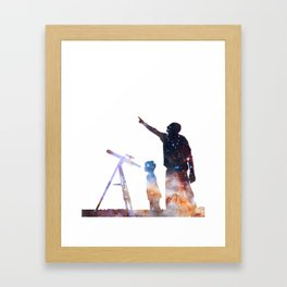 The Astronomers Framed Art Print
