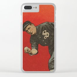 Backyard Baseball Clear iPhone Case