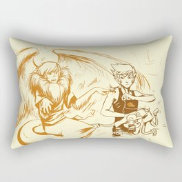 HS_SKETCHY_MESSY_AS_HELL Rectangular Pillow
