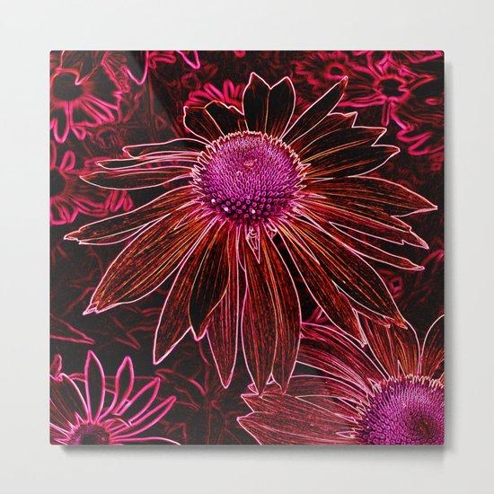 flower abstract II Metal Print