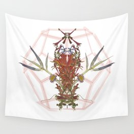Oregon Flowers & Sacred Geometry Wall Tapestry