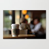 Starbucks Coffee Cup Canvas Print