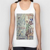 cooking Tank Tops featuring COOKING by Gabriella Vaghini