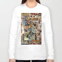 safari Long Sleeve T-shirts featuring Safari by Katy Hirschfeld