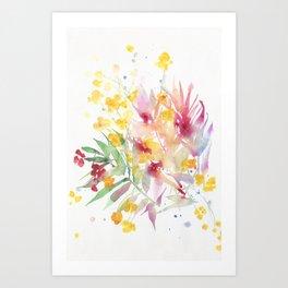 fiori I Art Print