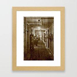 Historic Hotel photography Framed Art Print