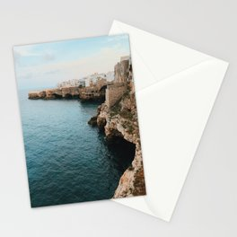 Cliffs of Polignano Stationery Cards