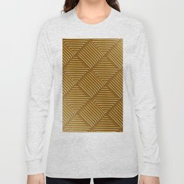 Diagonal Stripes Background 44 Long Sleeve T-shirt