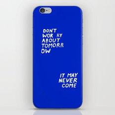 NOWORRIES iPhone & iPod Skin