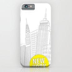 New York, New York Slim Case iPhone 6s