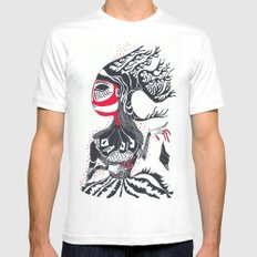 nt 014 Mens Fitted Tee MEDIUM White