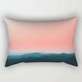 Early morning layers Rectangular Pillow