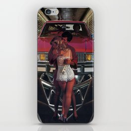 At Fault  - Vintage collage iPhone Skin