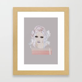 Wintery 1 Framed Art Print