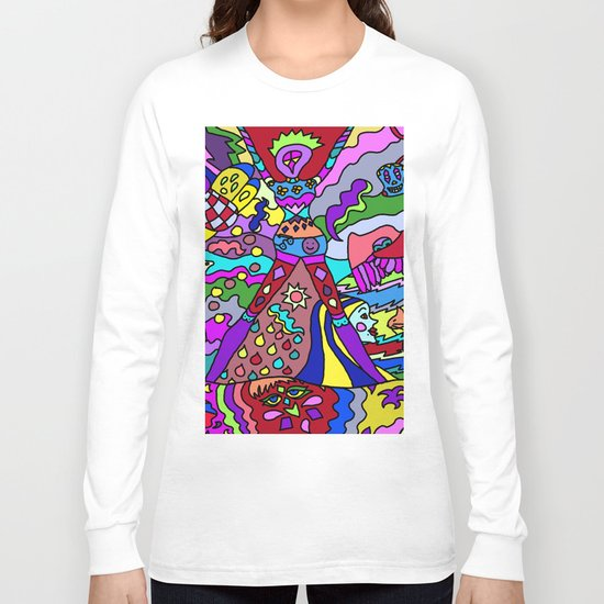 Abstract 12 Long Sleeve T-shirt