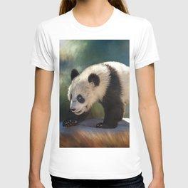 Cute panda bear baby T-shirt