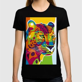 The Colorful Leopard T-shirt