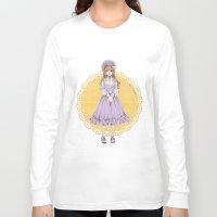lolita Long Sleeve T-shirts featuring Lolita by petitechatnoir