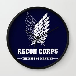 Recon Corps Wall Clock