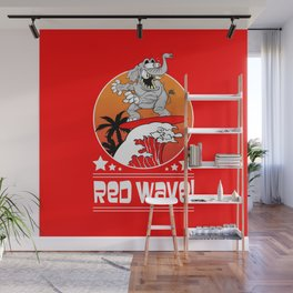 Republican Elephant Red Wave Midterm Vote 2018 Wall Mural