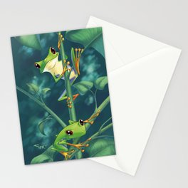I love Being Green! Stationery Cards