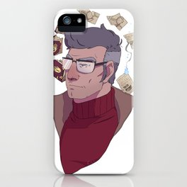 The Author of the Journals iPhone Case