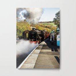 Grosmont Station Metal Print
