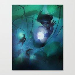 Mermaid Escape Canvas Print