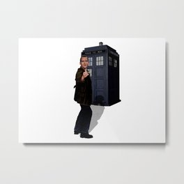 9th Doctor Metal Print