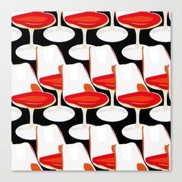 Pop Modern Colour Electric Chair Art Canvas Print