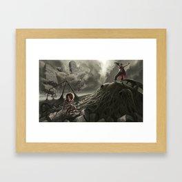 Jack and Jill Framed Art Print