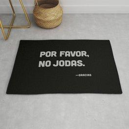 Por Favor, No Jodas Rug