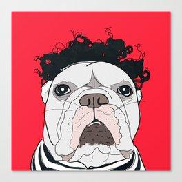 Venice Bulldog Canvas Print