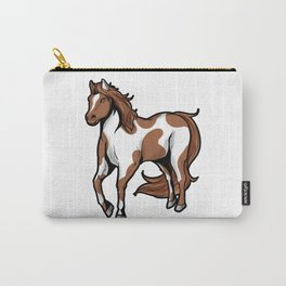 American Paint Horse horseriding riding Pony Present Carry-All Pouch