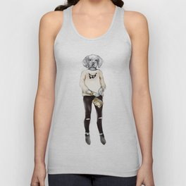 Belles the Beagle Unisex Tank Top
