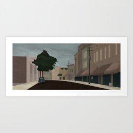 Progressive City (2 of 3) Art Print