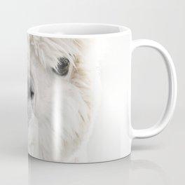 PEEKY ALPACA Coffee Mug