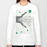 legs Long Sleeve T-shirts featuring Legs by Labartwurx