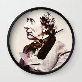 Hans Christian Andersen Wall Clock