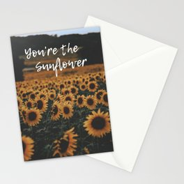 You're The Sunflower Stationery Cards