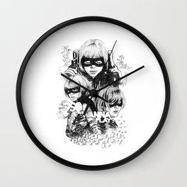 Hit-Girl Wall Clock