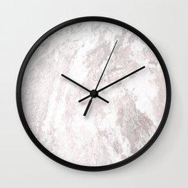 White Marble Mountain 016 Wall Clock