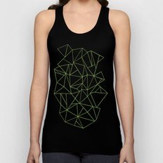 Ab Outline Greeny Unisex Tank Top