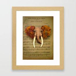 Elphant Framed Art Print