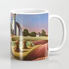 Missouri Landscape by Thomas Hart Benton Coffee Mug