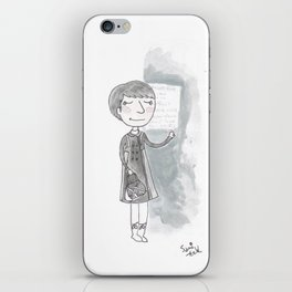Doctor who - Some Girls Wander By Mistake iPhone Skin