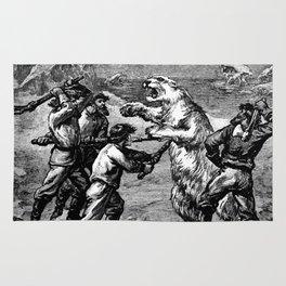 Battle with Animals Rug