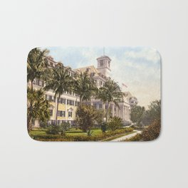 The Royal Poinciana, Palm Beach, Florida, 1900 Bath Mat