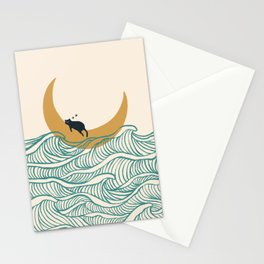 Good Night Meow 1 Stationery Cards