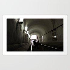 Light Below Art Print